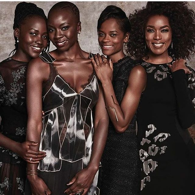 All of this beauty in one photo! #blackpanther #DFWbeautyguide