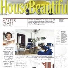 House Beautiful, Vicente Wolf