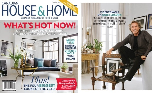 House & Home Cover, Vicente Wolf