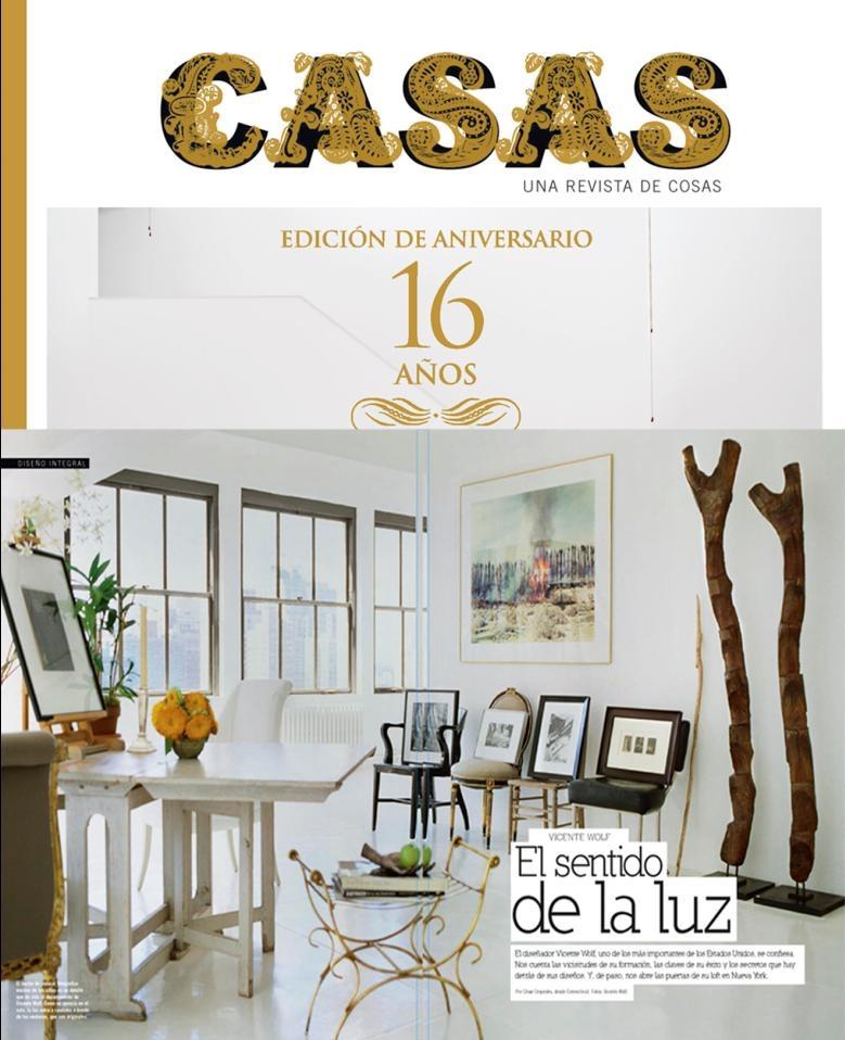 Casa feature, Vicente Wolf