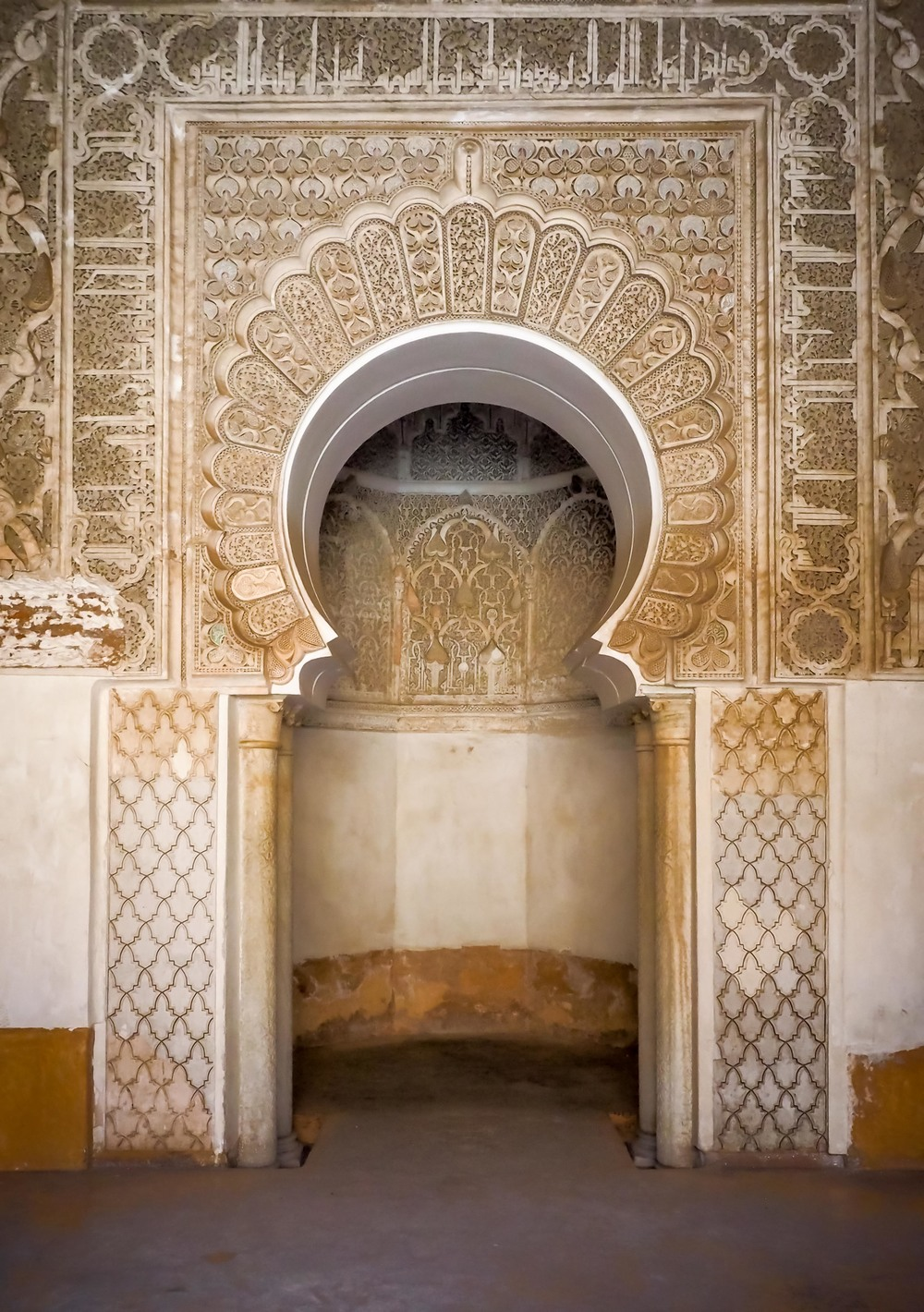 Saadian Tombs.  At least I think it's the tombs.  If you recognize it and it's not, let me know.