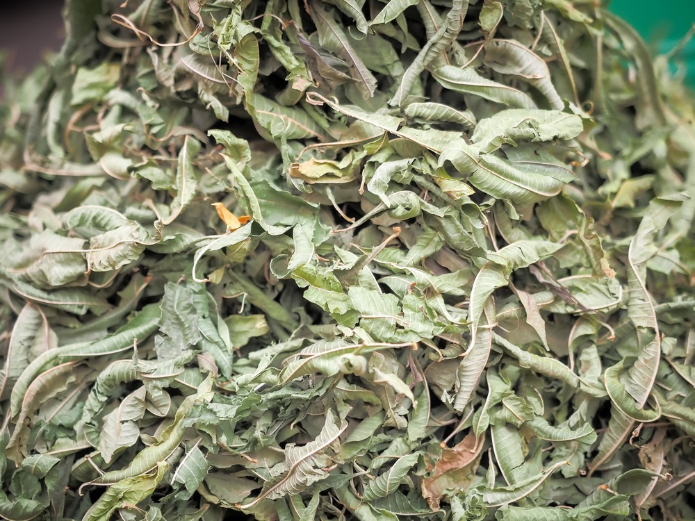 A dried herb, for adding to your bath or mixing with argan oil.