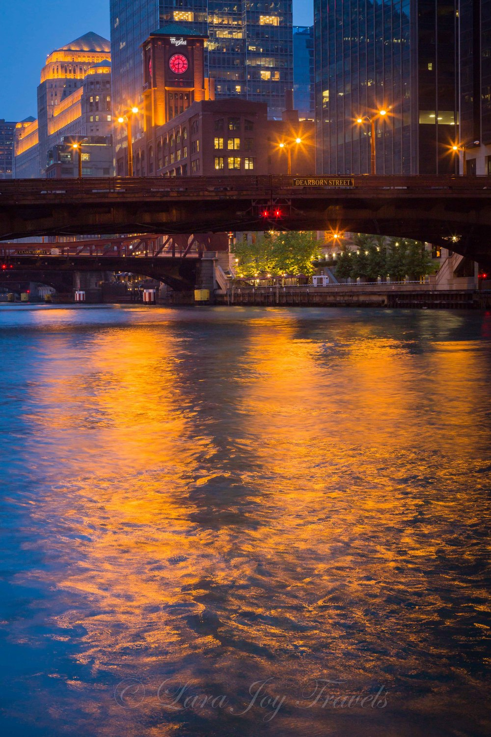 Blue hour at the river.