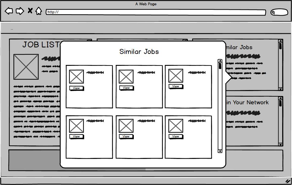 Popup Screens