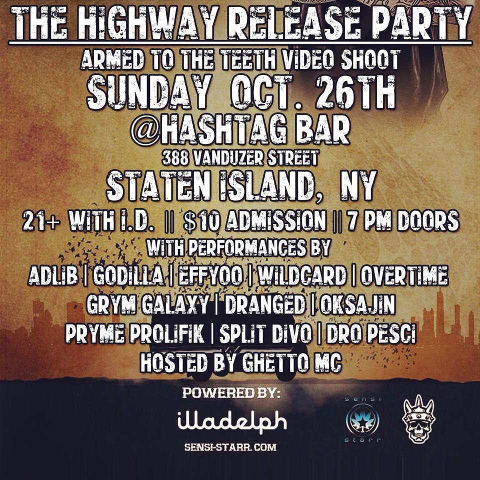 10/26 Hashtag Bar Staten Island, NY