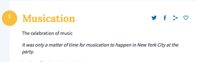 We submitted our definition and it was approved via UrbanDictionary.com
