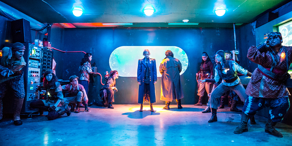 Children's Theatre Company production of   20,000 Leagues Under the Sea.   Directed by Ryan Underbakke. Photo by Dan Norman.