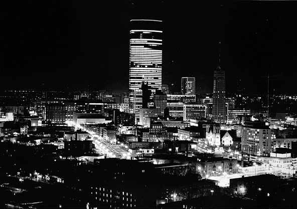 Minneapolis, 1975. Photo: Minneapolis Convention and Visitors Bureau.