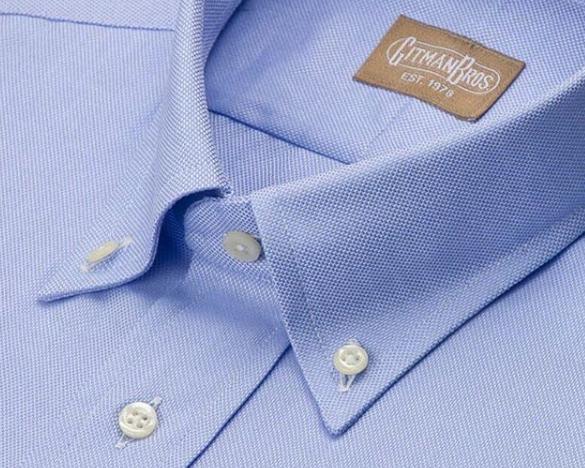 Gitman Bros Blue Dress Shirt.PNG