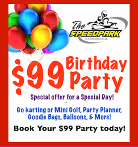Birthday Parties Start At Just 99 Book Your The Speedpark And Make It One To Remember Forever