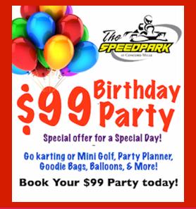 MORE Info BIRTHDAY PARTIES