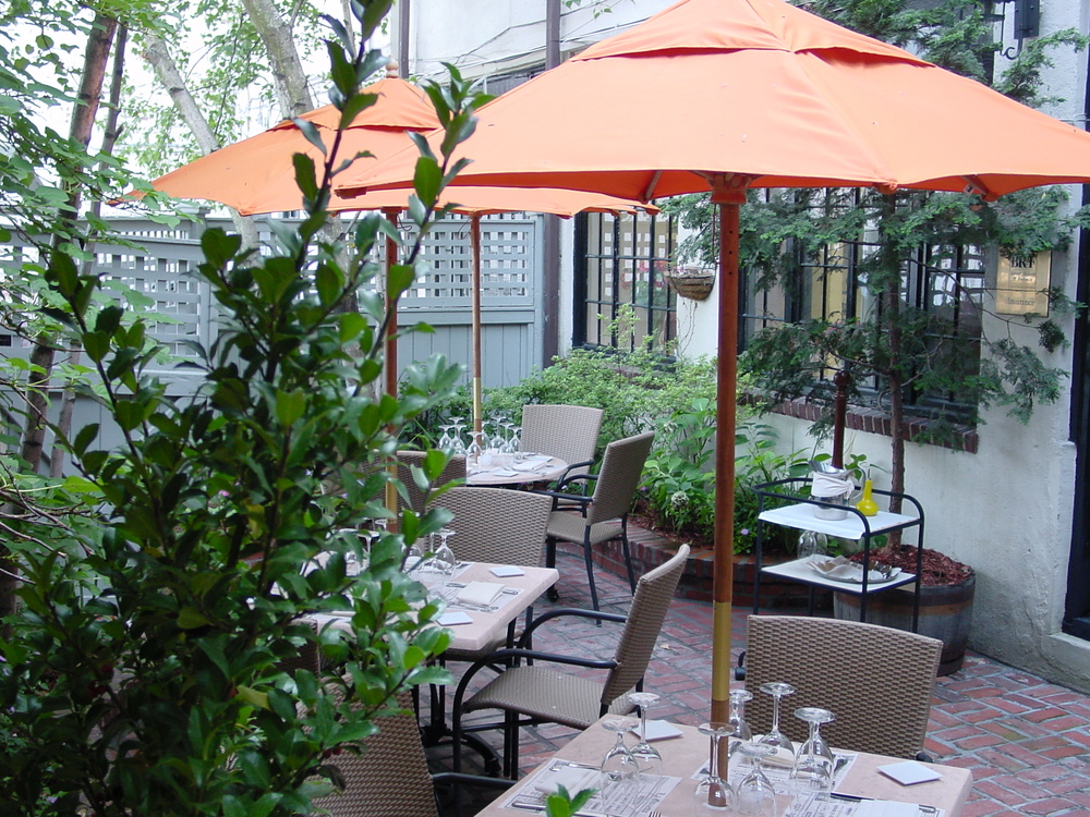 Featuring Both A Patio And Secluded Courtyard, Our Outdoor Dining  Experience Resembles ...