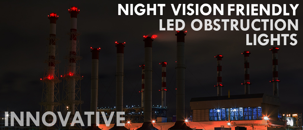 NVG Friendly Obstruction Lights