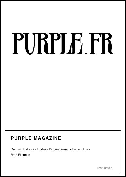 Purple - Rodney