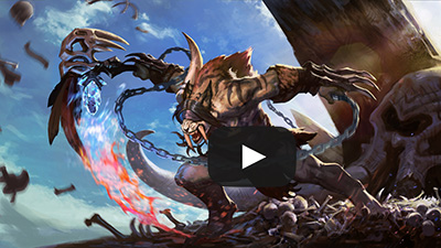 See the Glaive skin in-game NOW on Vainglory Casual.