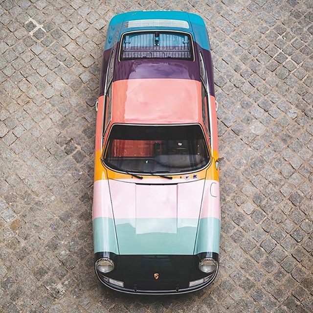 Summer color story inspo 🌈 911 by @paulsmithdesign