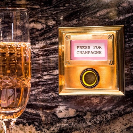 Currently have a project that may or may not include a champagne button 🥂 🍾#ExactlyWhereINeedToBe 😘