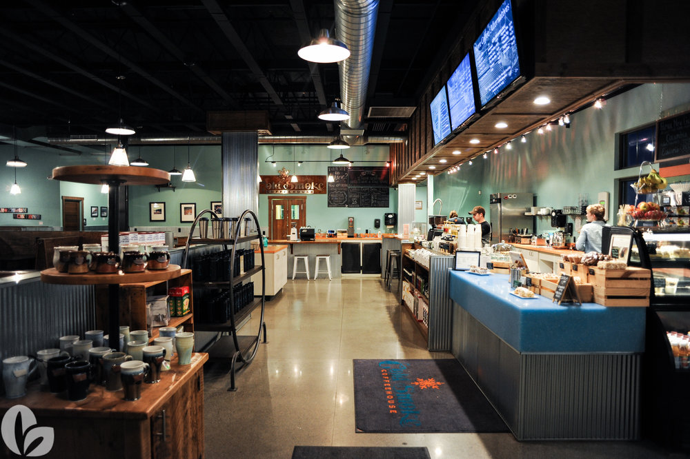 Cold Smoke Coffeehouse at the Stoneridge Shopping Center: 2051 West Oak Street Suite 5 Bozeman Montana 406-404-1471