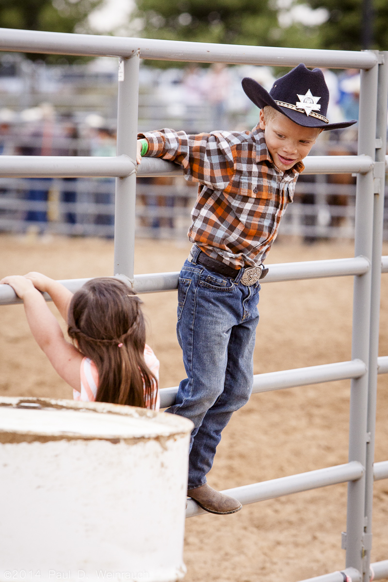 Photographing the rodeo was great because not only was there horses and bucking bulls, but all the little cowgirls and boys were running around having a great time!