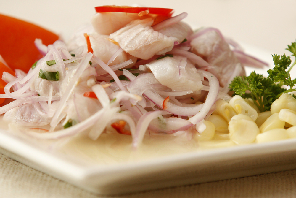 Ceviche, photo courtesy of PromPeru