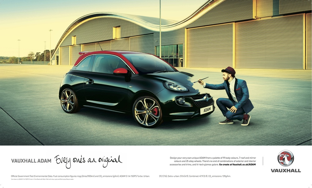 Photographer:  Andy Glass  | Project:  Vauxhall Adam  | Agency:  McCann  | Production:  Locate Productions