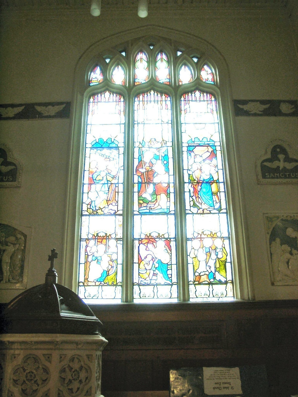 Baptistery Window