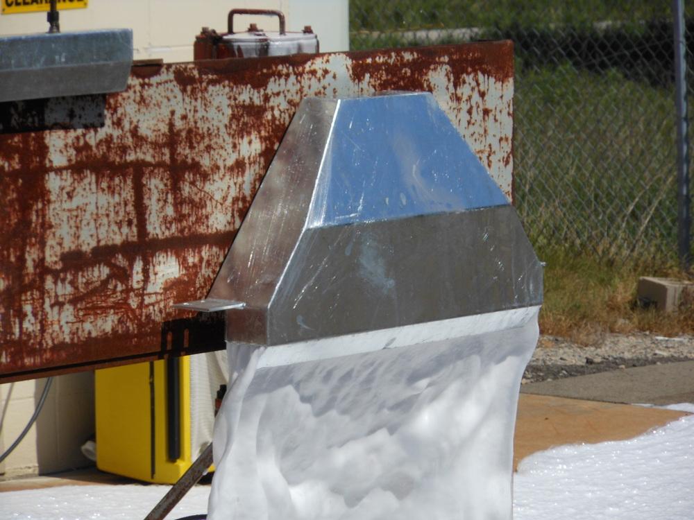 LPRF Undergoing Foam Testing