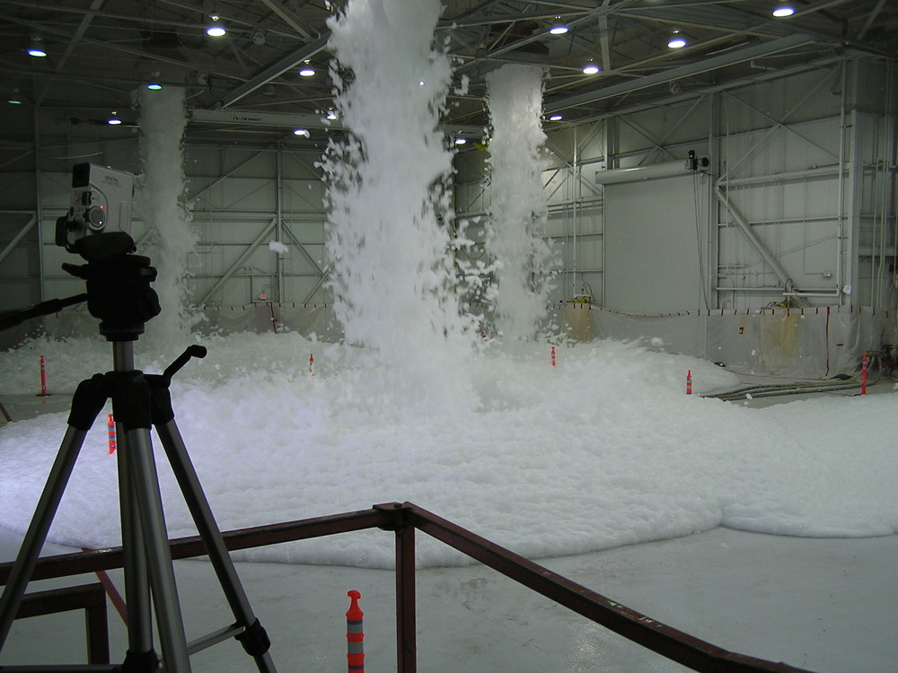 High–Expansion Foam System Test