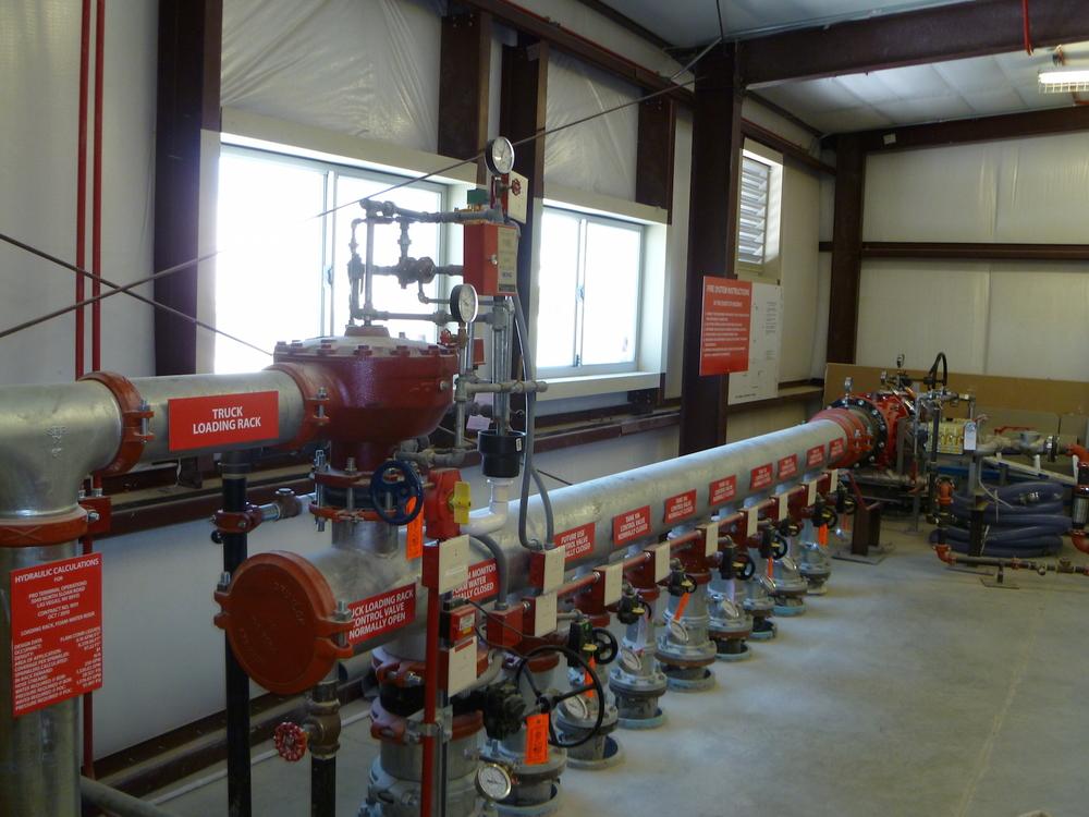 Multi–Tank Foam Deluge System Manifold