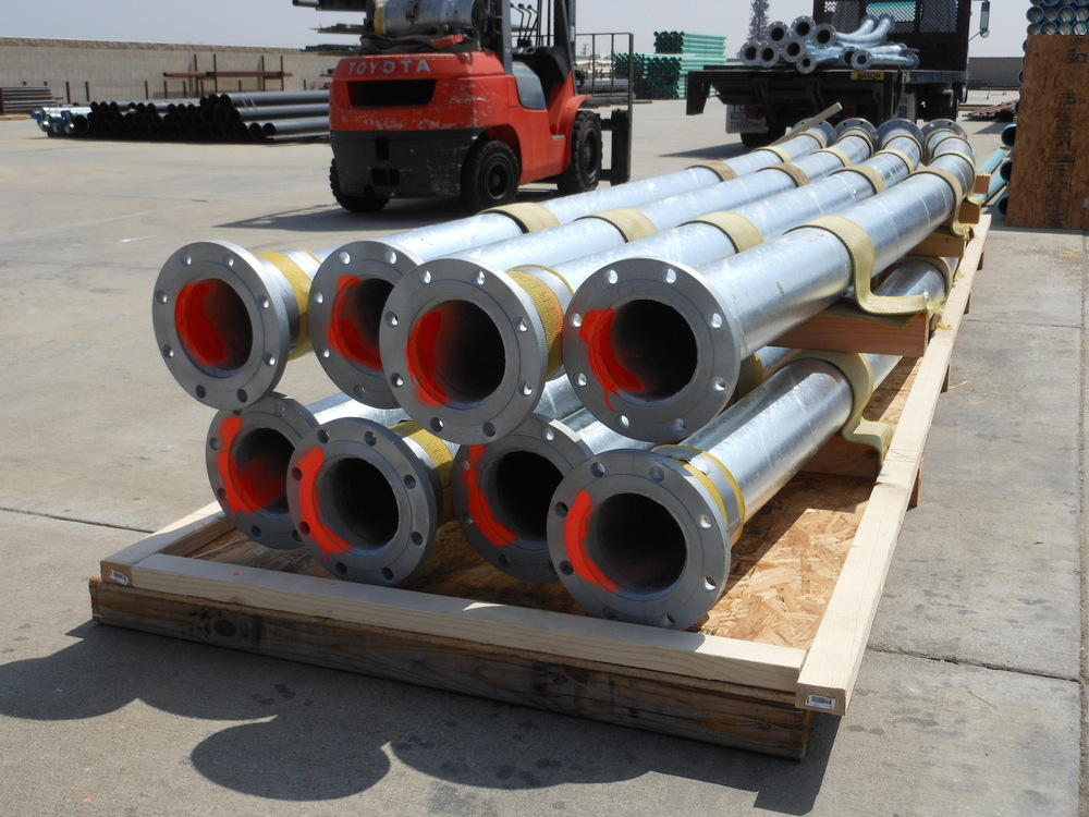 Pre-Engineered System Ready for Shipment to Customer