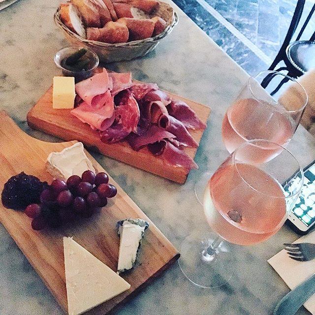 Birthmonth comenceth.  #queens #winebar #raaksbirthmonth #lic #cheeseplate