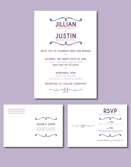 Invitation + RSVP