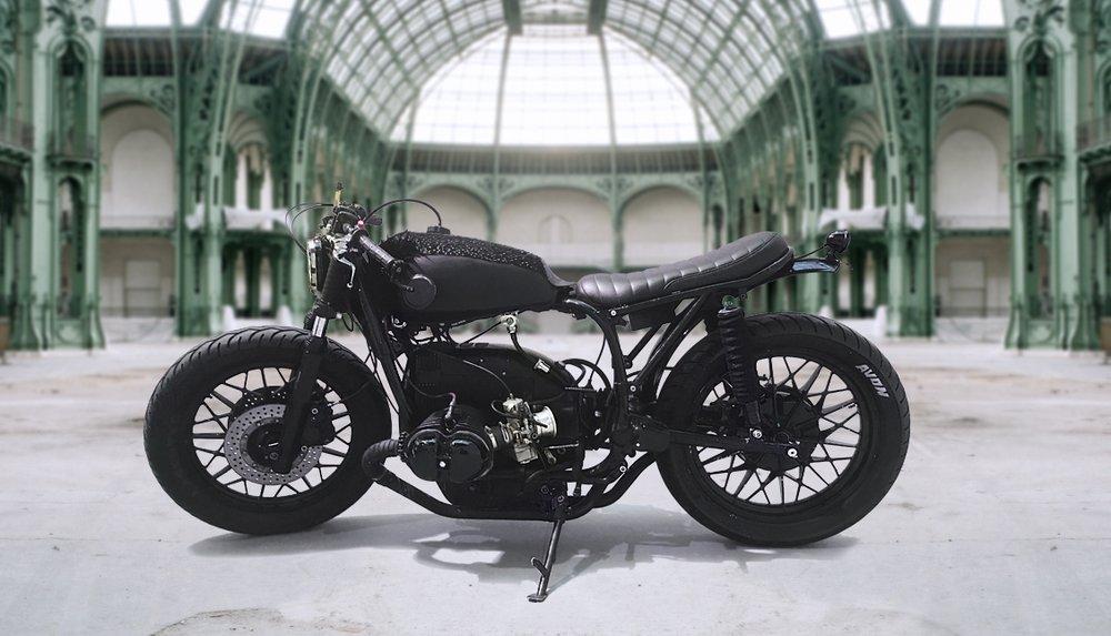 Sacco Baret x Blitz Motorcycles