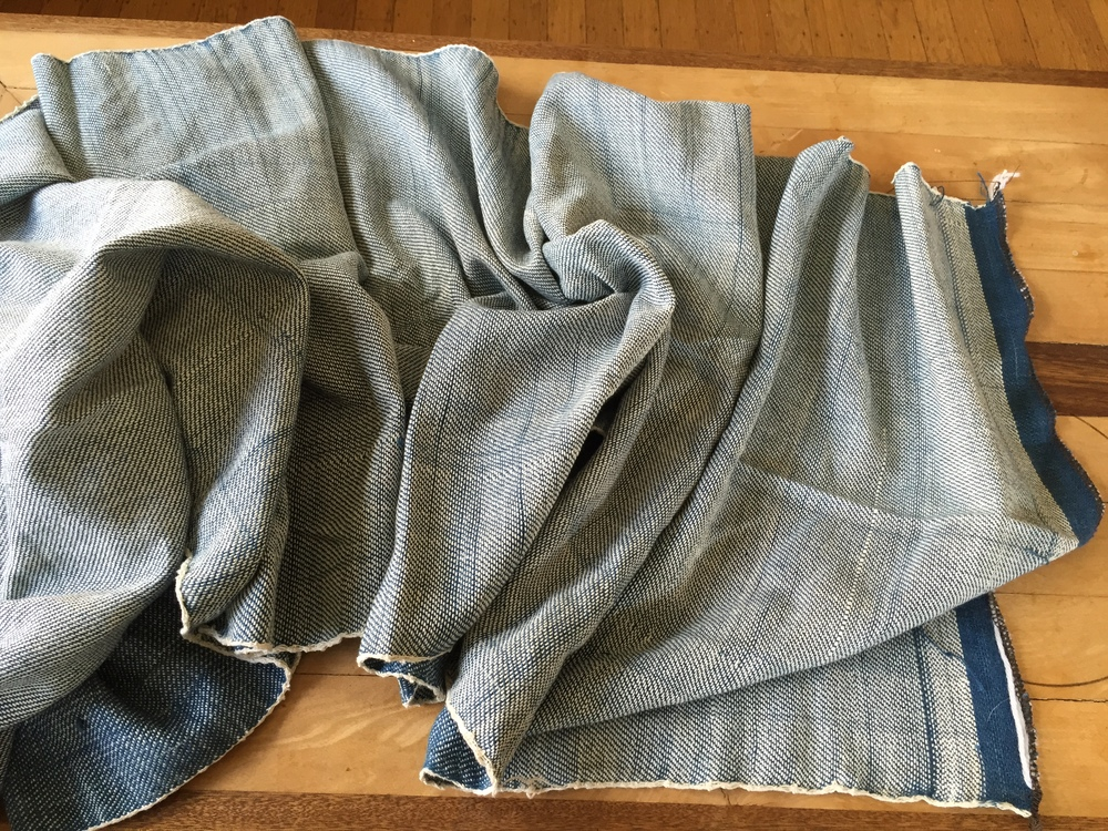 Handwoven denim is softer than machine loomed denim, obviously.