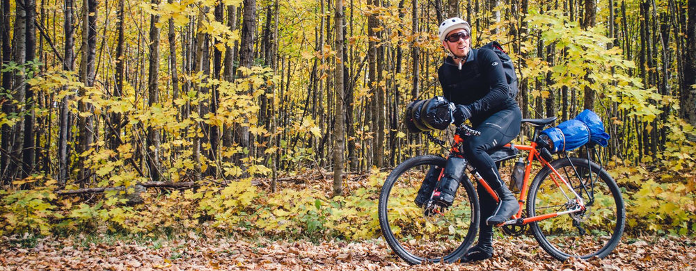 Bikepacking chequamegon-nicolet national forest 2017