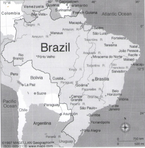 which countries  not including french guiana  which is a