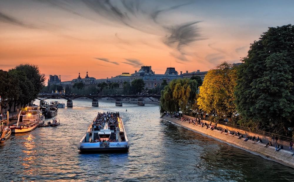 Bateaux Parisiens River Cruise - $30