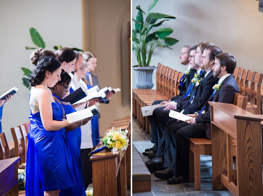 bridesmaids and groomsmen beauty and the beast wedding