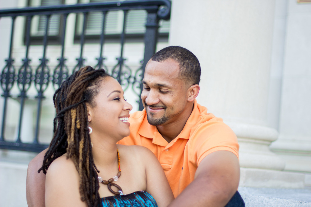 downtown greenville nc engagement photography bryant tyson