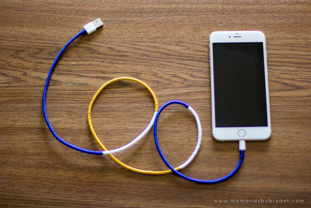 An iPhone Charger Hack That Will Make Your Charger Last | Bryant Tyson Photography - www.memoriesbybryant.com