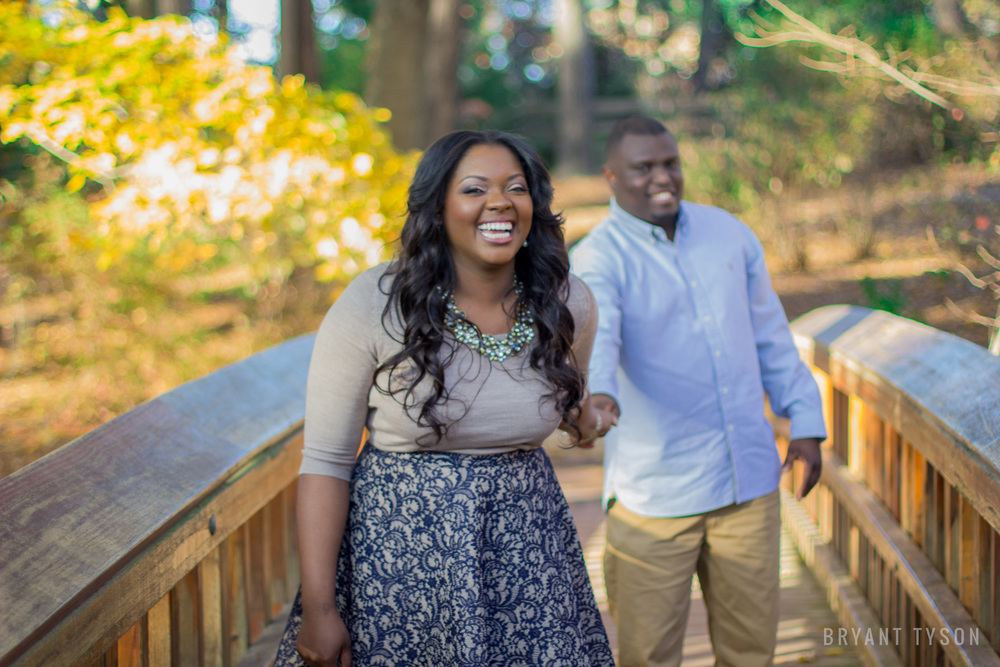 Sara P. Duke Gardens Engagement Photos : Asha + Mark | Bryant Tyson Photography | Eastern NC Wedding Photography