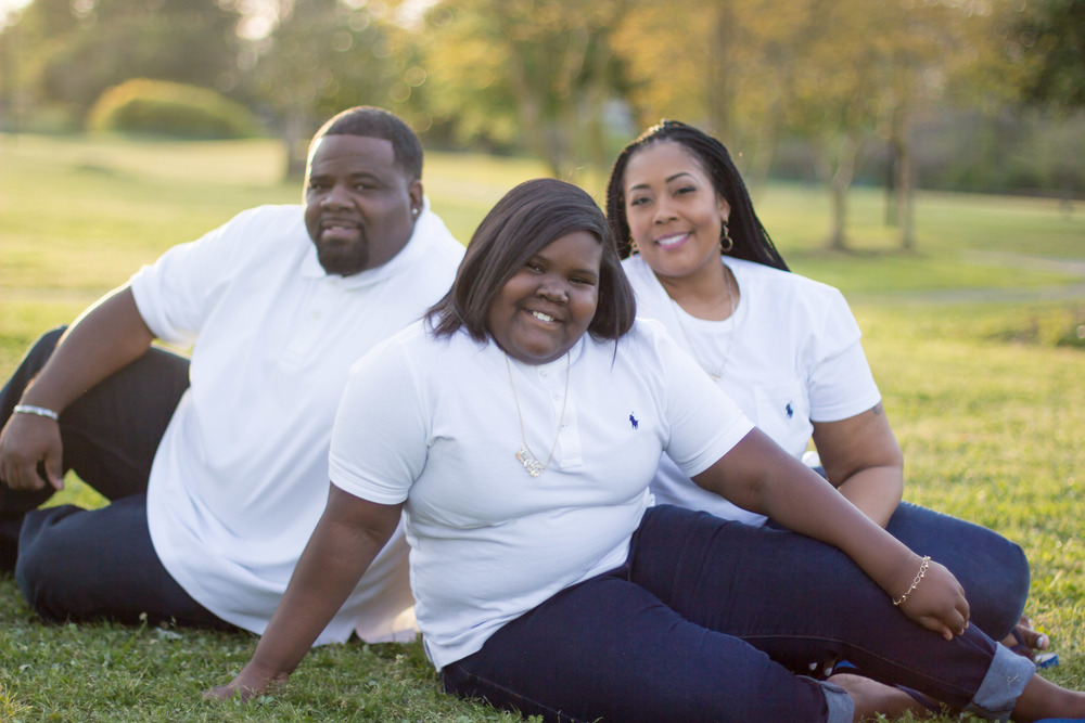 Greenville NC Family Portraits | Bryant Tyson Photography | Tonya Smith | Greenville Town Commons
