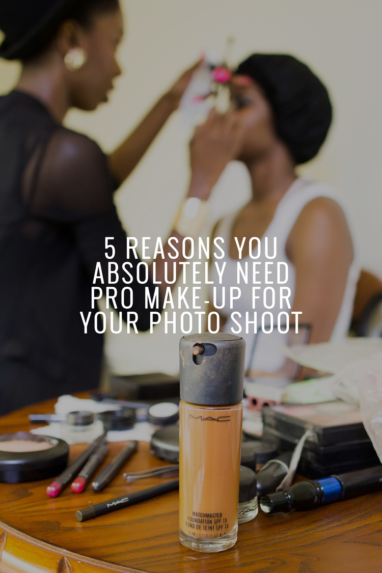 5 Reasons You Absolutely Need Pro Makeup For Your Shoot