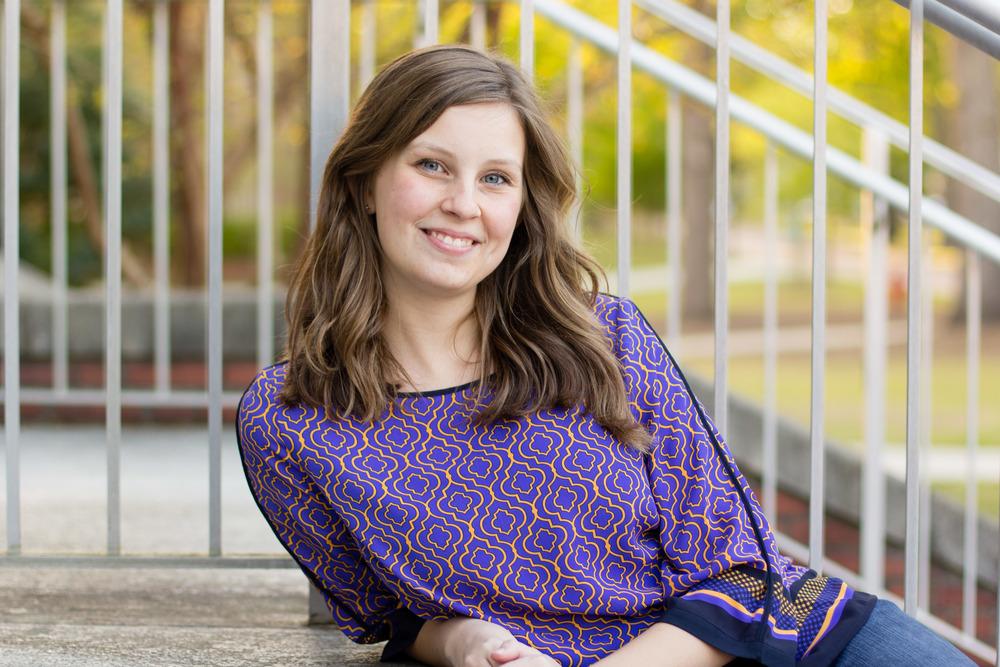 Greenville NC Senior Portrait Photographer | Bryant Tyson Photography | Katie Lesko | Music Education
