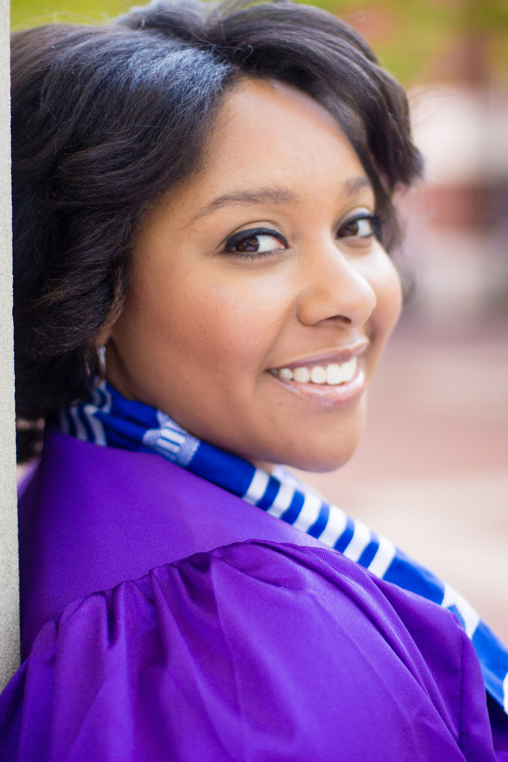 ECU Senior Sessions | East Carolina University | Bryant Tyson Photography | Senior Portraits | Lambda Mu Chapter Zeta Phi Beta