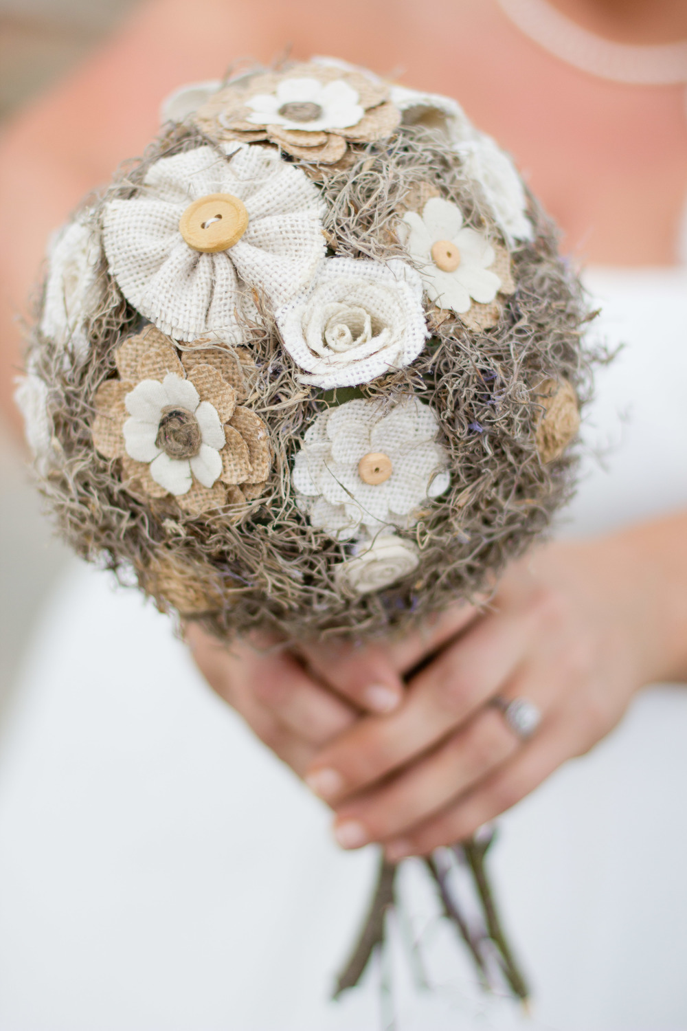 Western Theme Wedding | DIY Wedding Bouquet | Bridal Portraits for Karen | Greenville NC Wedding Photographer | www.memoriesbybryant.com