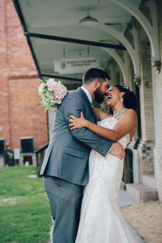 Washington Civic Center Wedding | Eastern NC Wedding Photographer | Bryant Tyson Photography | Pat + Elyse Mcrae | Summer Wedding