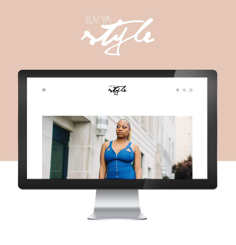 Luv Ya Style Boutique Has Launched | Greenville NC Web Designer | Squarespace Design | Bryant Tyson Photography | www.memoriesbybryant.com