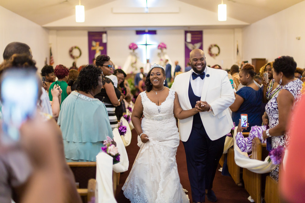 Kristin + Will   Precessional   Mount Calvary Christian Center Wedding Ceremony  Greenville NC Wedding Photographer   Bryant Tyson Photography   www.memoriesbybryant.com