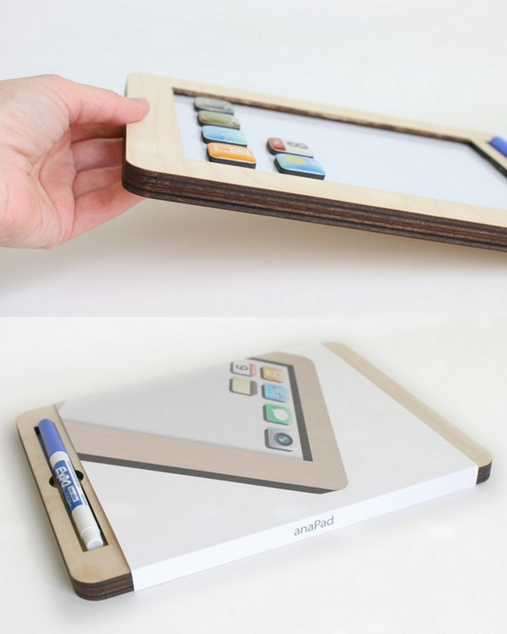 iPad white board